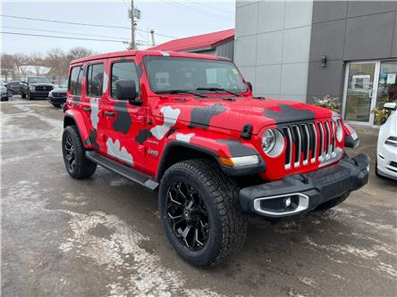 2020 Jeep Wrangler Unlimited Sahara (Stk: 14755) in Regina - Image 1 of 25