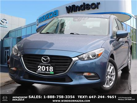 2018 Mazda Mazda3 GS (Stk: TR82396) in Windsor - Image 1 of 25