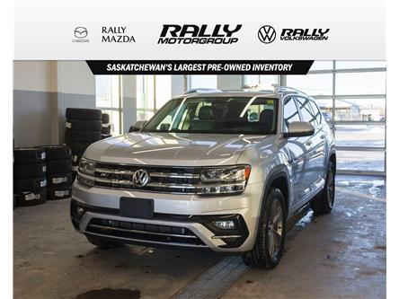 2019 Volkswagen Atlas 3.6 FSI Highline (Stk: V1414) in Prince Albert - Image 1 of 16