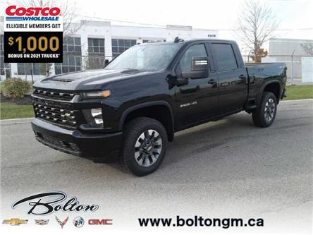 2021 Chevrolet Silverado 2500HD Custom (Stk: 113347) in Bolton - Image 1 of 15