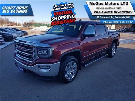 2017 GMC Sierra 1500 SLT (Stk: 123808) in Goderich - Image 1 of 28