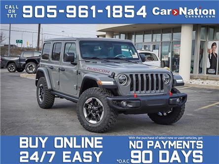 2021 Jeep Wrangler Rubicon Unlimited 4x4| BRAND NEW| LEATHER| NAVI| (Stk: Nou-M155) in Burlington - Image 1 of 22