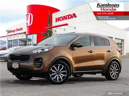 2017 Kia Sportage EX Tech (Stk: 14935B) in Kamloops - Image 1 of 25