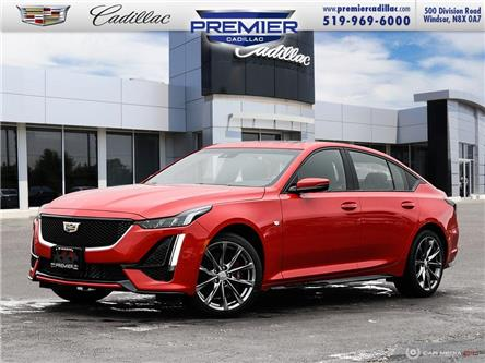 2021 Cadillac CT5 Sport (Stk: 210228) in Windsor - Image 1 of 27