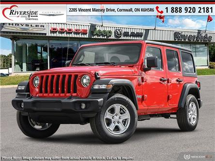 2021 Jeep Wrangler Unlimited Sport (Stk: ) in Cornwall - Image 1 of 22