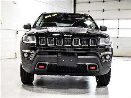 2021 Jeep Compass Trailhawk (Stk: 21J042) in Kingston - Image 1 of 29