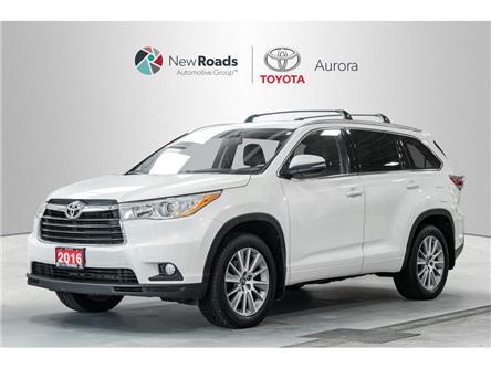 2016 Toyota Highlander XLE (Stk: 320041) in Aurora - Image 1 of 22