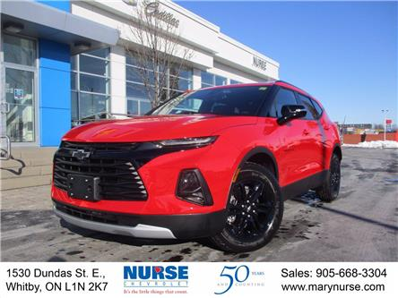 2021 Chevrolet Blazer LT (Stk: 21E007) in Whitby - Image 1 of 29