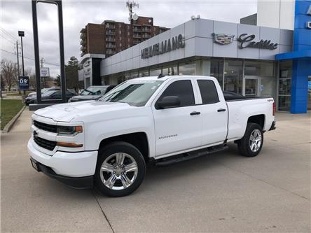 2018 Chevrolet Silverado 1500 Silverado Custom (Stk: L074A) in Chatham - Image 1 of 17