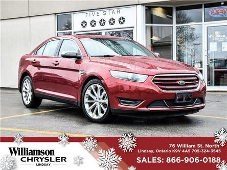 2018 Ford Taurus Limited (Stk: U1143) in Lindsay - Image 1 of 30