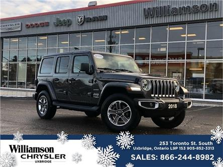 2018 Jeep Wrangler Unlimited Sahara (Stk: W6505) in Uxbridge - Image 1 of 18
