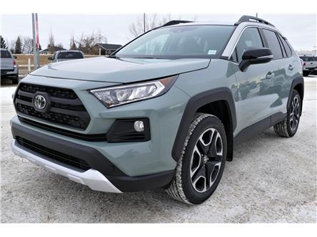 2021 Toyota RAV4 Trail (Stk: RAM052) in Lloydminster - Image 1 of 15