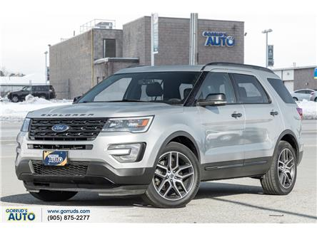 2017 Ford Explorer Sport (Stk: D27304) in Milton - Image 1 of 23