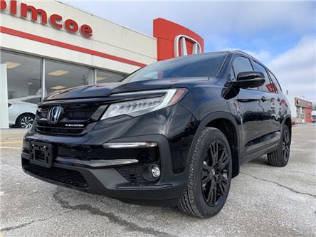 2021 Honda Pilot Black Edition (Stk: 21042) in Simcoe - Image 1 of 27