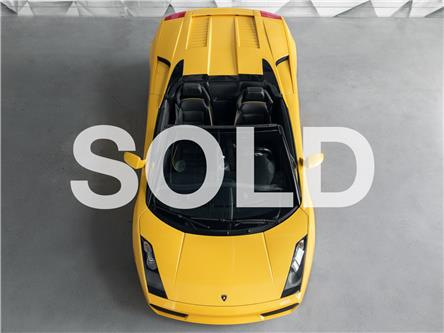 2007 Lamborghini Gallardo Spyder  (Stk: ) in Woodbridge - Image 1 of 49