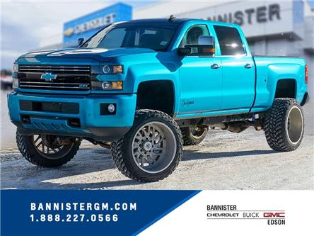 2016 Chevrolet Silverado 2500HD LTZ (Stk: P20-113) in Edson - Image 1 of 14