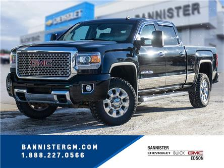 2015 GMC Sierra 3500HD Denali (Stk: 21-037A) in Edson - Image 1 of 16
