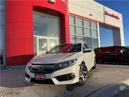 2018 Honda Civic EX (Stk: 21-057A) in Stouffville - Image 1 of 14