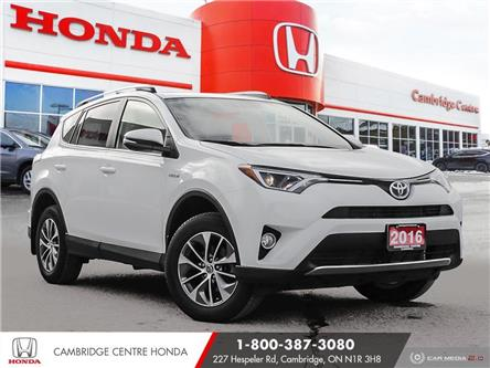2016 Toyota RAV4 Hybrid XLE (Stk: 21318B) in Cambridge - Image 1 of 27