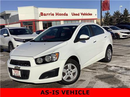 2013 Chevrolet Sonic LT Auto (Stk: U1723A) in Barrie - Image 1 of 21