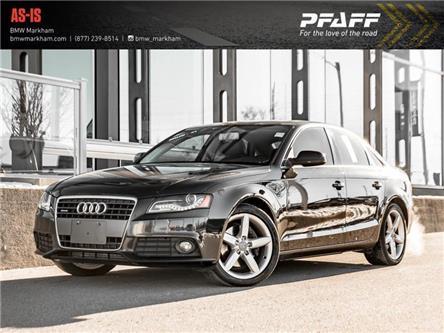 2011 Audi A4 2.0T Premium Plus (Stk: D13761A) in Markham - Image 1 of 20