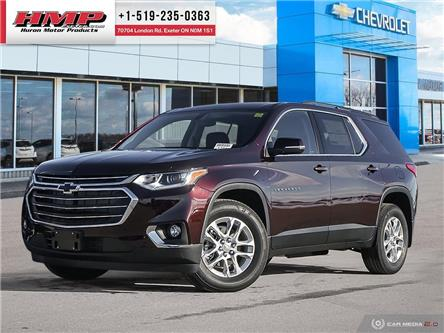2021 Chevrolet Traverse LT Cloth (Stk: 89441) in Exeter - Image 1 of 27