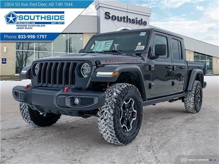 2021 Jeep Gladiator Rubicon (Stk: GD2106) in Red Deer - Image 1 of 25