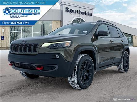 2021 Jeep Cherokee Trailhawk (Stk: CE2120) in Red Deer - Image 1 of 25