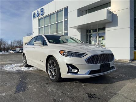 2019 Ford Fusion Hybrid Titanium (Stk: P6154) in Perth - Image 1 of 21