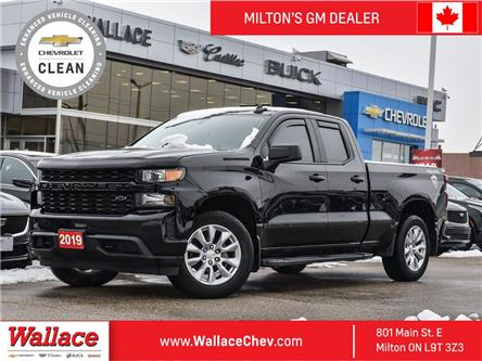 2019 Chevrolet Silverado 1500 4WD Double Cab 147  Custom (Stk: PR5387) in Milton - Image 1 of 21