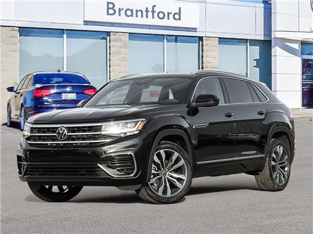 2021 Volkswagen Atlas Cross Sport 3.6 FSI Execline (Stk: AS21740) in Brantford - Image 1 of 10