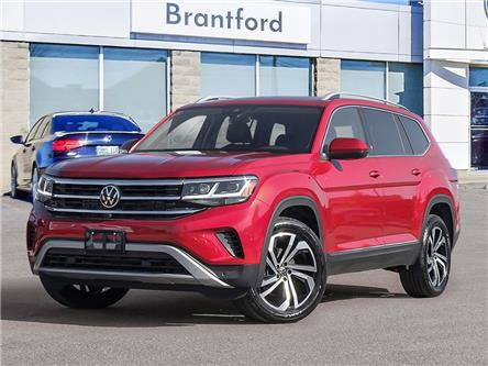 2021 Volkswagen Atlas 3.6 FSI Execline (Stk: AT21057) in Brantford - Image 1 of 23