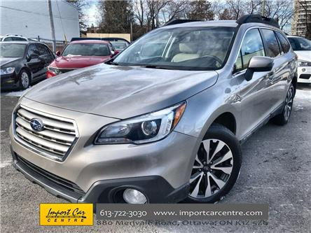 2017 Subaru Outback 2.5i Limited (Stk: 366214) in Ottawa - Image 1 of 26
