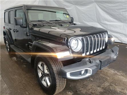 2019 Jeep Wrangler Unlimited Sahara (Stk: 2110991) in Thunder Bay - Image 1 of 17