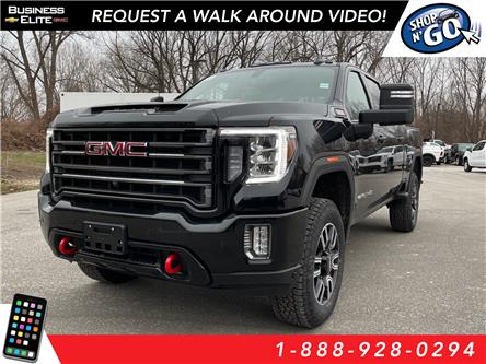 2021 GMC Sierra 3500HD AT4 (Stk: 21-0287) in LaSalle - Image 1 of 12