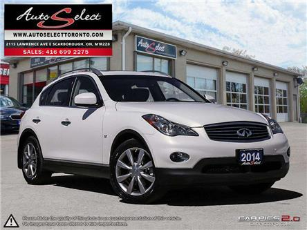 2014 Infiniti QX50 AWD (Stk: 14NFX42) in Scarborough - Image 1 of 28