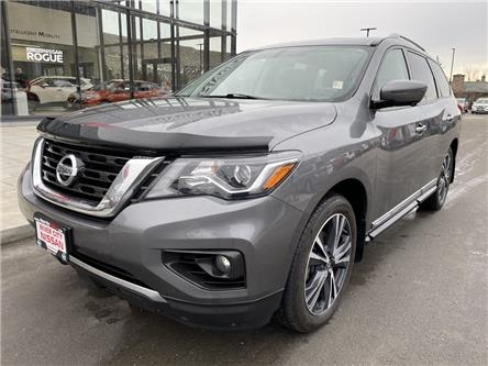 2018 Nissan Pathfinder Platinum (Stk: UT1522) in Kamloops - Image 1 of 35
