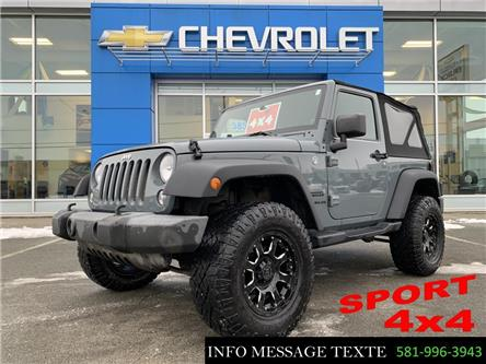 2014 Jeep Wrangler Sport (Stk: 20320A) in Ste-Marie - Image 1 of 22