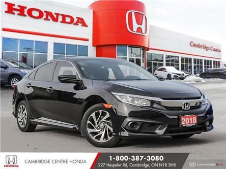 2018 Honda Civic SE (Stk: 21333A) in Cambridge - Image 1 of 27