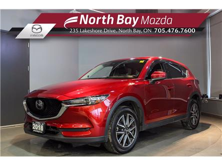 2018 Mazda CX-5 GT (Stk: U6778) in North Bay - Image 1 of 24