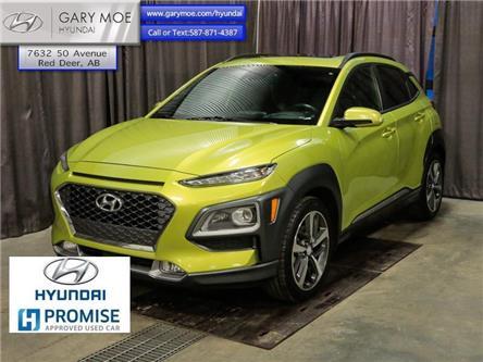 2018 Hyundai Kona 1.6T Ultimate w/clr pk (Stk: HP8522) in Red Deer - Image 1 of 24