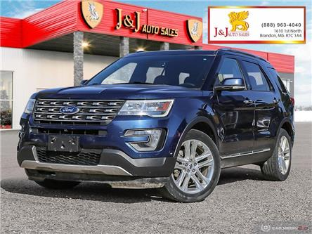 2016 Ford Explorer Limited (Stk: J2082) in Brandon - Image 1 of 27