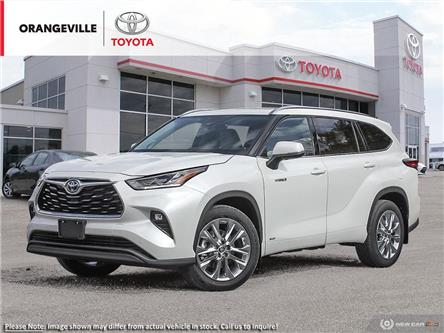 2021 Toyota Highlander Hybrid Limited (Stk: 21191) in Orangeville - Image 1 of 23