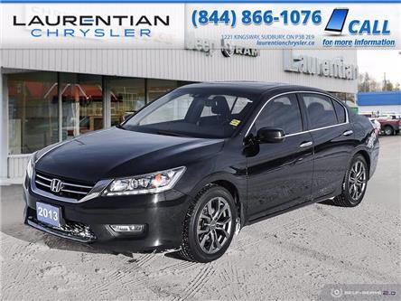 2013 Honda Accord Touring V6 (Stk: P0185A) in Sudbury - Image 1 of 27