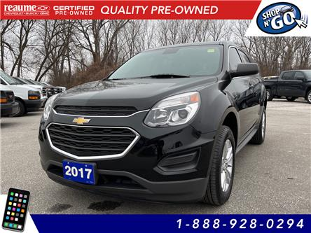 2017 Chevrolet Equinox LS (Stk: 21-0281A) in LaSalle - Image 1 of 25