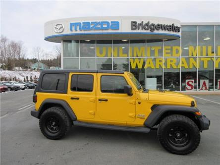 2019 Jeep Wrangler Unlimited Sport (Stk: ) in Hebbville - Image 1 of 25