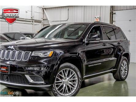 2017 Jeep Grand Cherokee Summit (Stk: ) in Oakville - Image 1 of 33