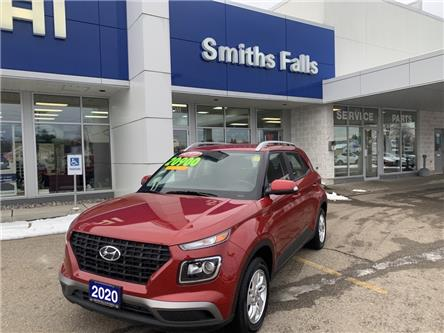 2020 Hyundai Venue Ultimate w/Black Interior (IVT) (Stk: P3229) in Smiths Falls - Image 1 of 5