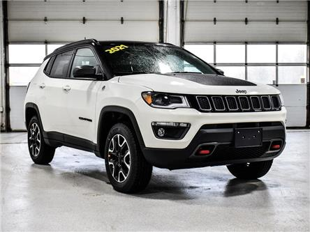 2021 Jeep Compass Trailhawk (Stk: 21J046) in Kingston - Image 1 of 28