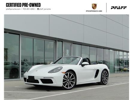 2017 Porsche 718 Boxster PDK (Stk: U9325) in Vaughan - Image 1 of 20